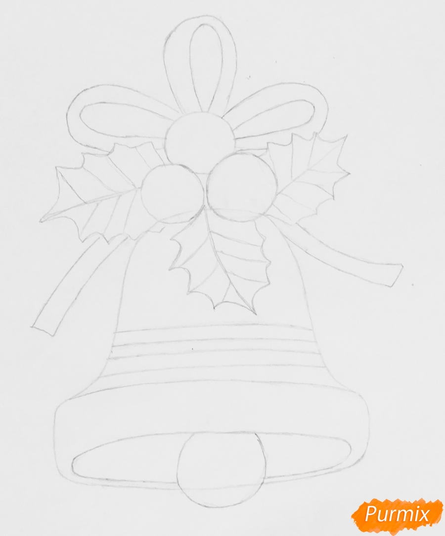 Схема электронного колокольчика