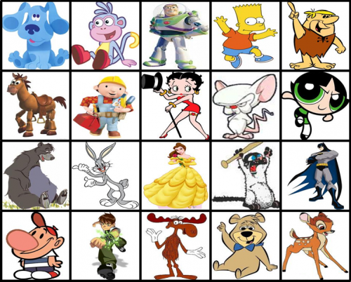 All About List Of Famous Cartoon Character Names Www Kidskunst Info