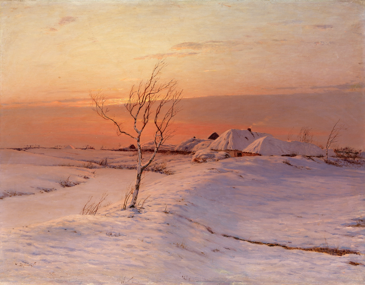 DUBOVSKOY, NIKOLAI A Winter's Evening