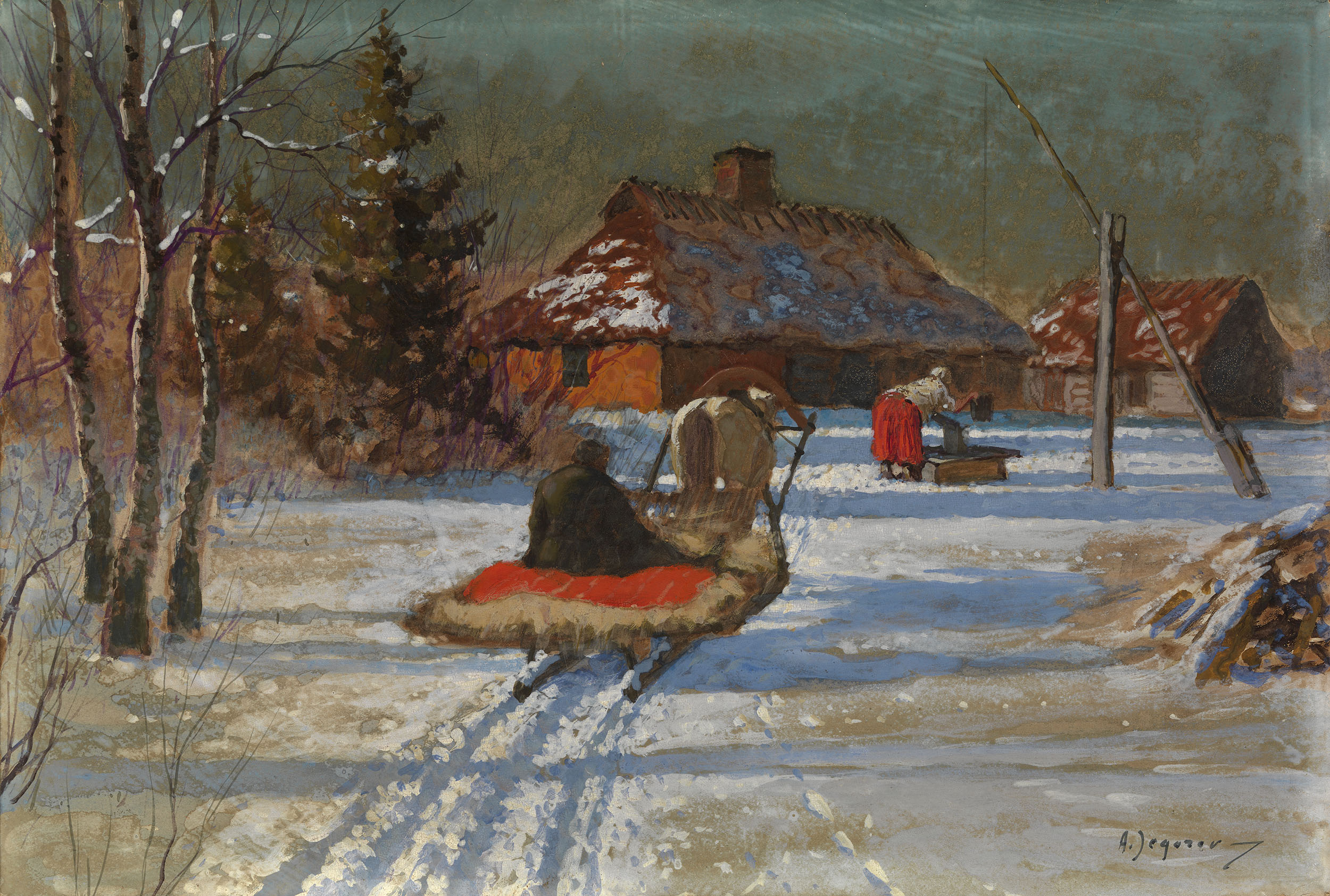 EGOROV, ANDREI A Winter's Evening