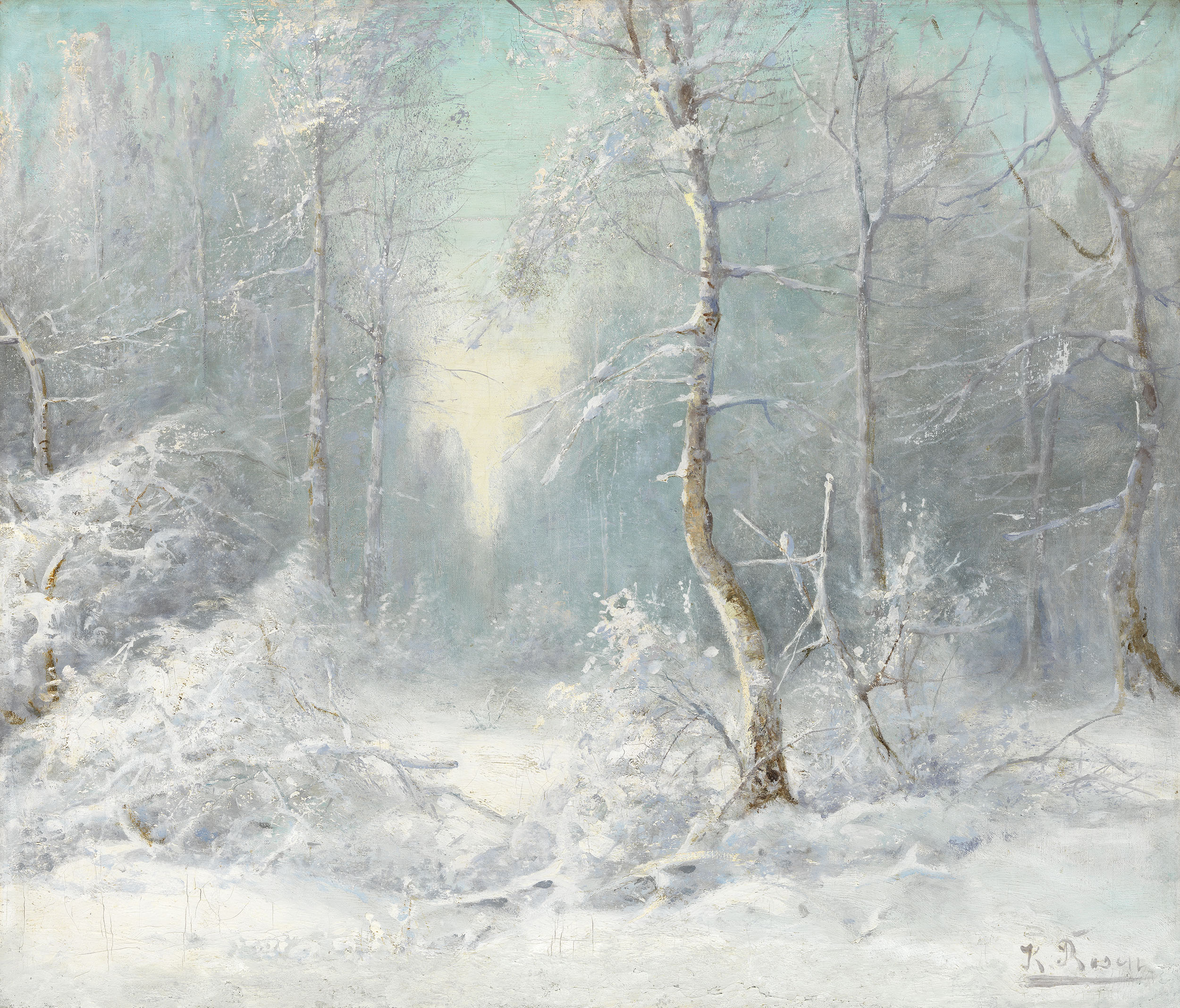 ROSEN, KARL Winter Landscape