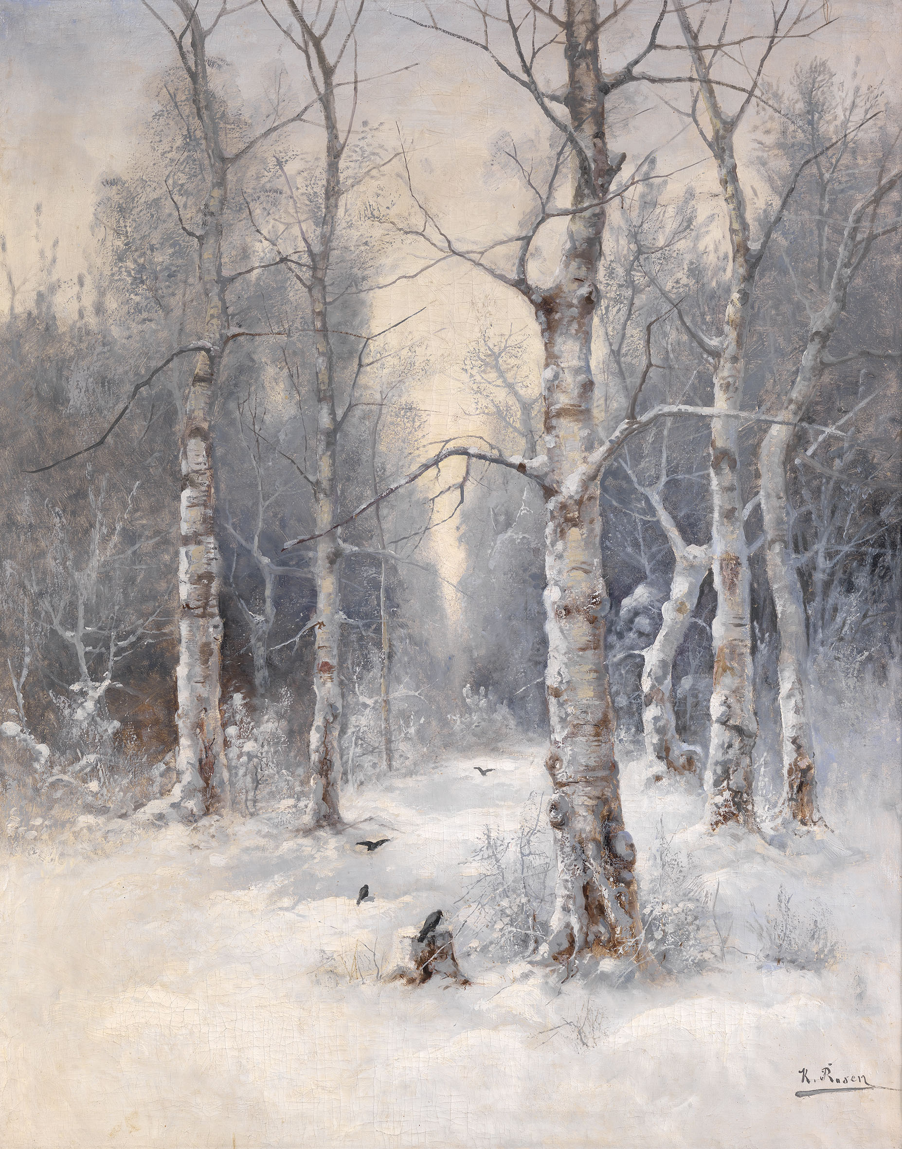 ROSEN, KARL Winter Landscape2