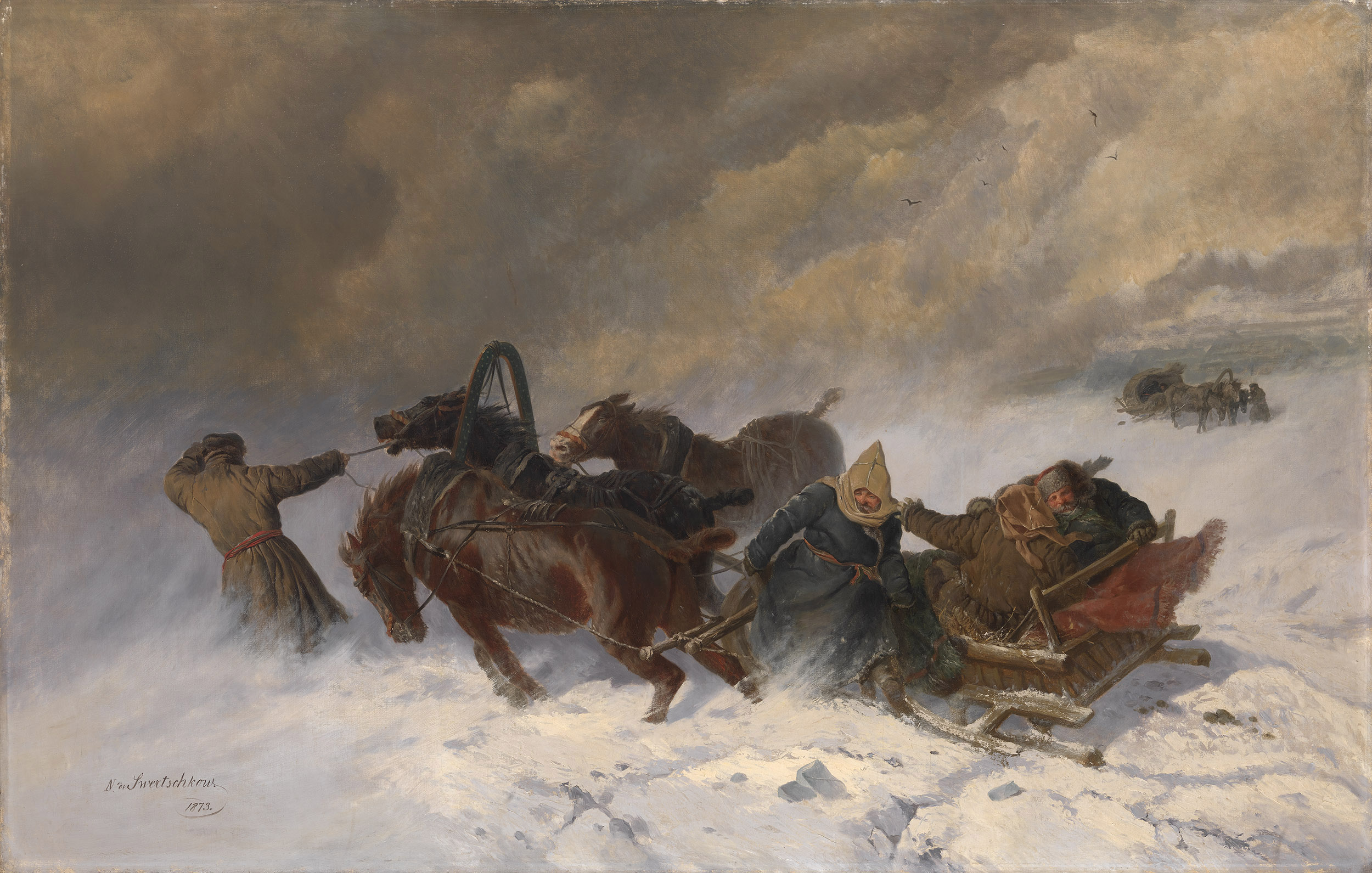 SVERCHKOV, NIKOLAI Into the Blizzard