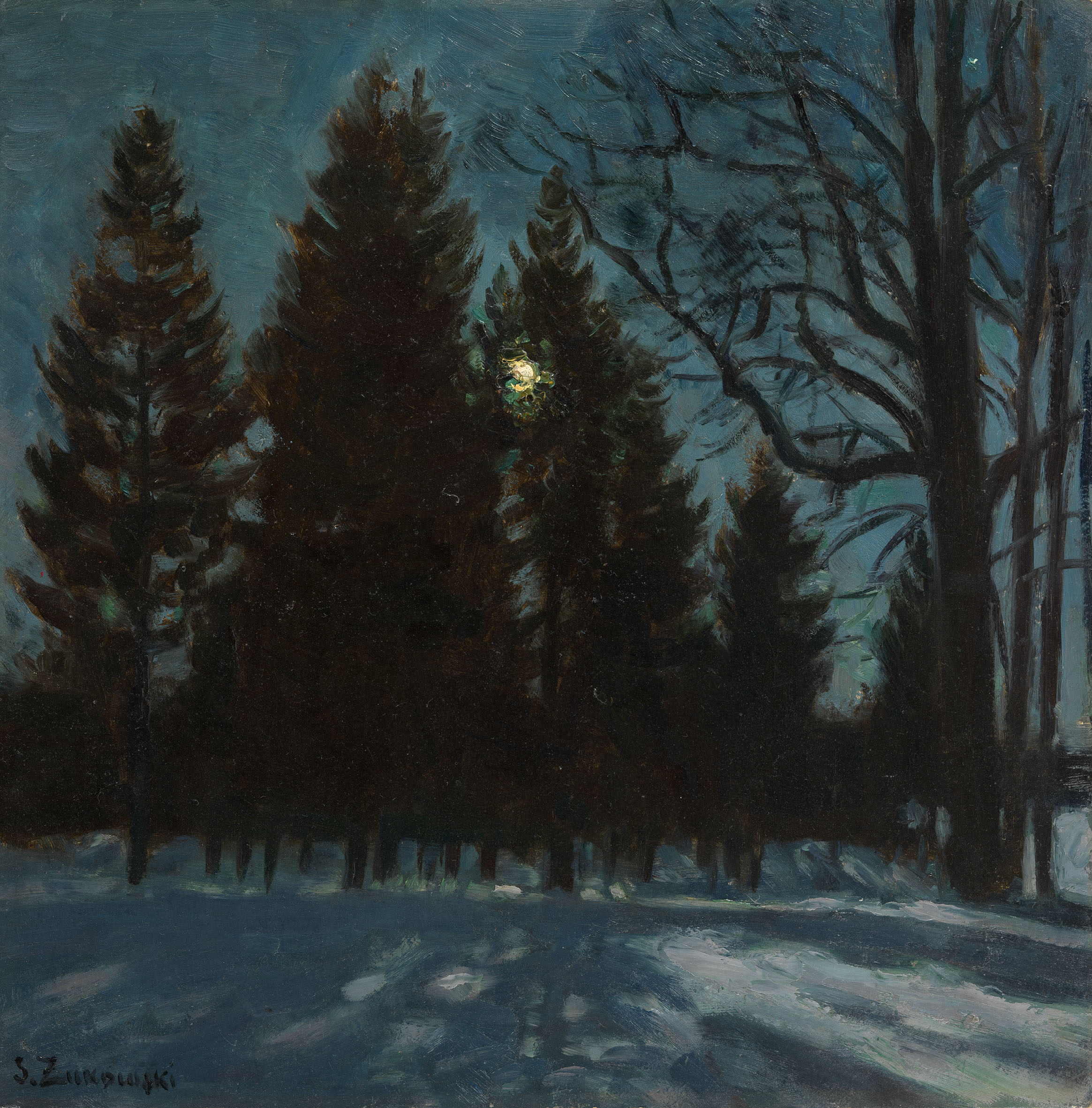 ZHUKOVSKY, STANISLAV Winter Night,